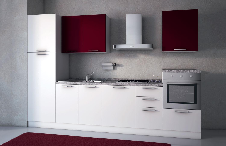Immagini Di Cucine Moderne Bicolore.Cucina Kayla
