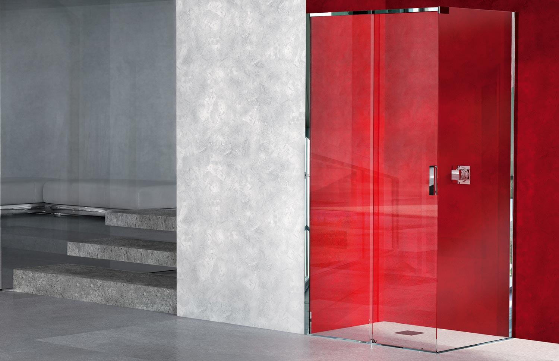 Porta Scorrevole Vetro 120 Cm shower stall 1000-19