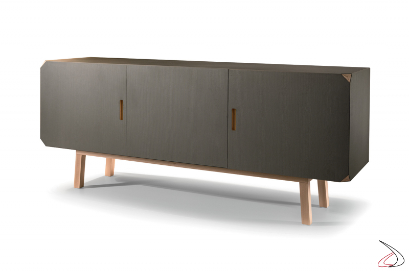 Made in Italy modern sideboard with 3 doors