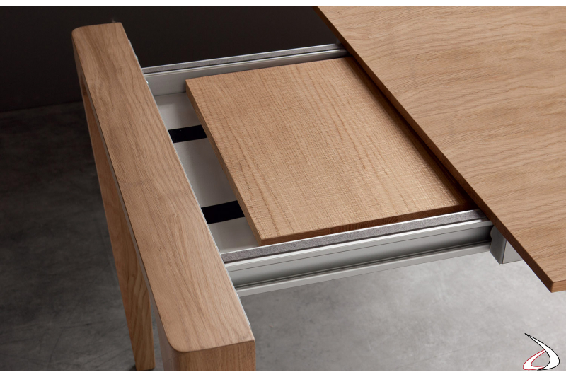 Wooden extensions for living room table