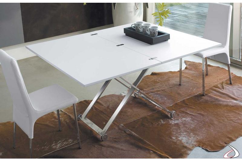 Tavolino trasformabile in tavolo da pranzo Punto | TopArredi