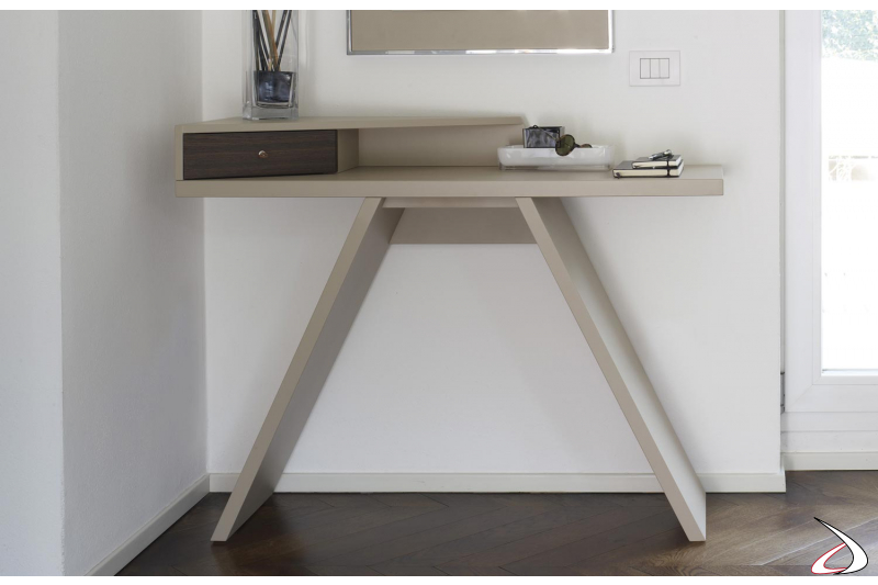table console for the home entrance