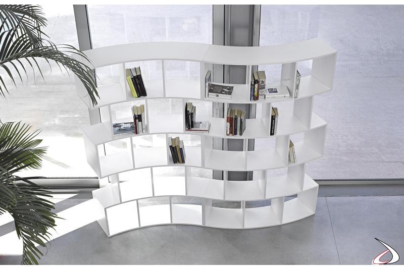 Libreria di design componibile da soggiorno
