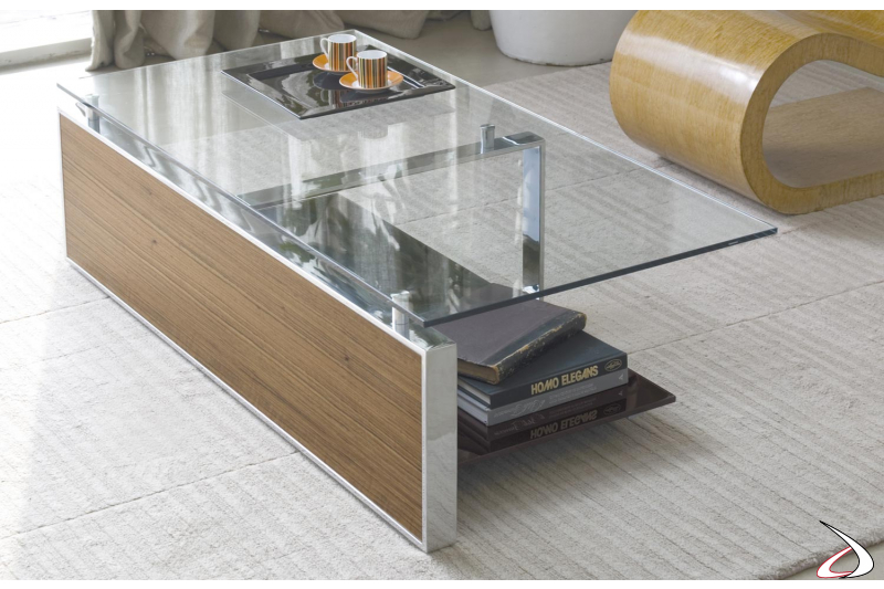 Modern living room rectangular table