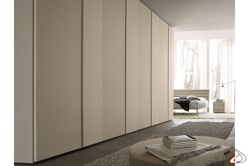 Wardrobe for a modern bedroom