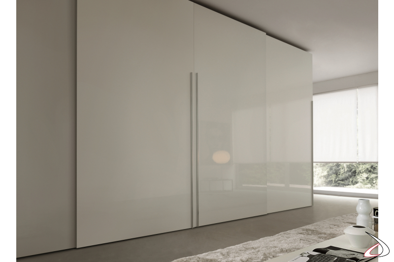tailored cabinet with sliding doors