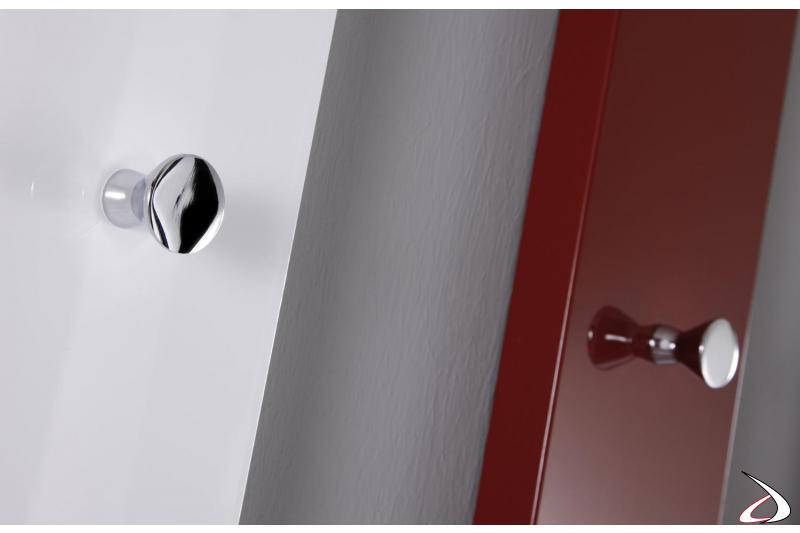 Chromed knob