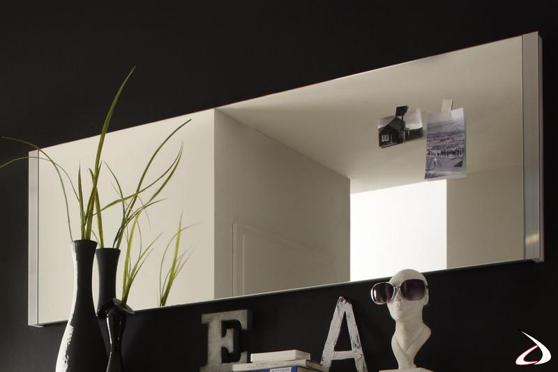 Specchio Bolero 3 da posizionare in entrata, spazioso ed elegante.