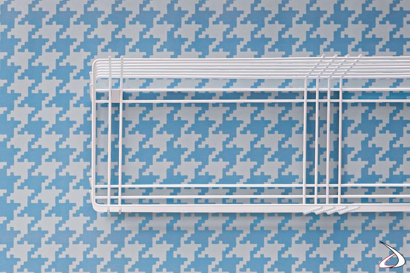 Stendino di design da lavanderia sospeso bianco