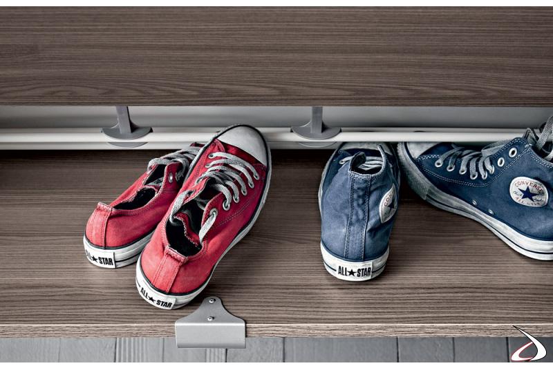 Porta scarpe da ingresso di design