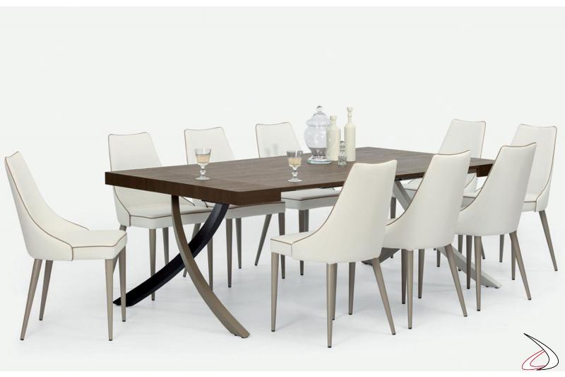 Tavolo consolle Artistico di Bontempi allungabile all'occorrenza