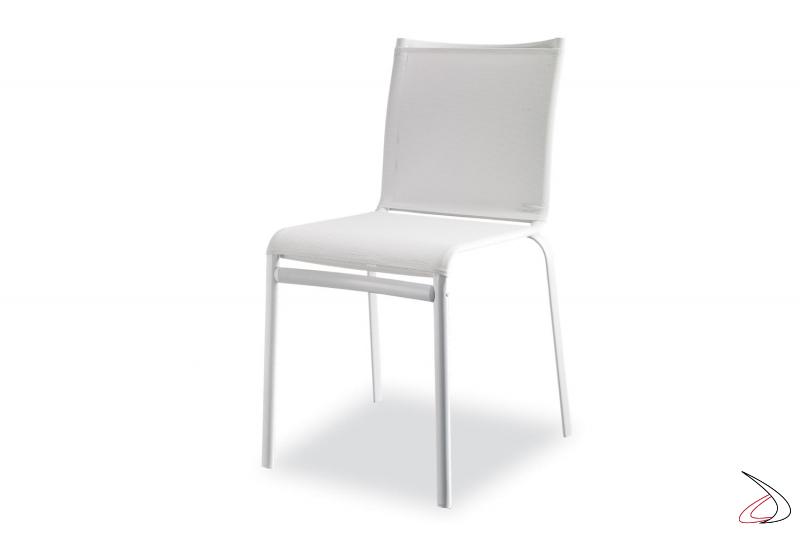 Sedia design Net da soggiorno