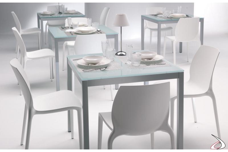 Sedia moderna Hidra da ristorante