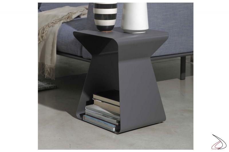 Tavolino moderno porta tazzine e porta riviste