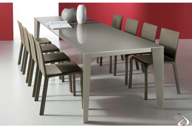 Tavolo soggiorno moderno allungabile