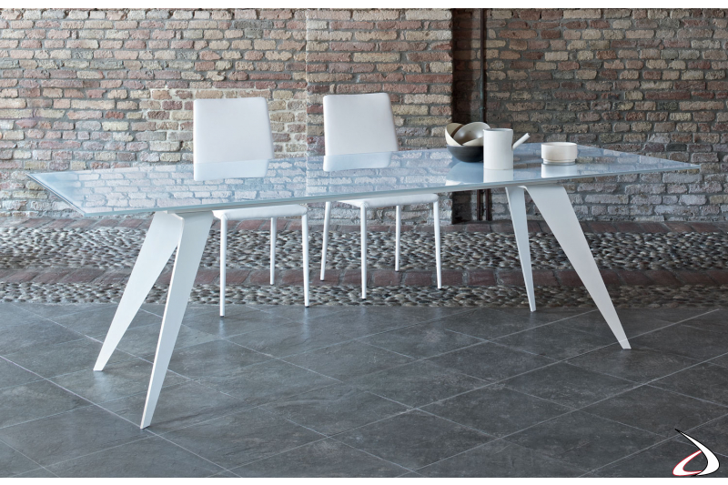 Contemporary table for the kitchen