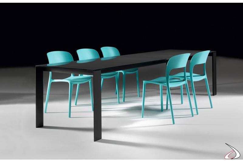 Tavolo da soggiorno per 12 persone allungabile fino a 3 metri