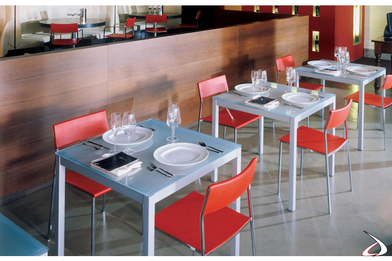 modern table for bars and restaurants