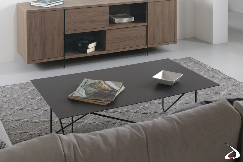 Tavolino Shape rettangolare.