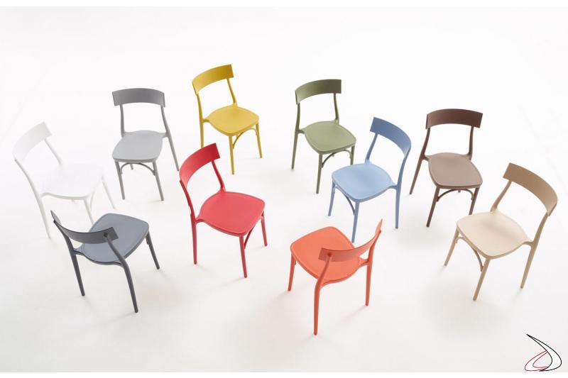 Sedie made in Italy dal design di W. Colico & Bestetti Assocciati