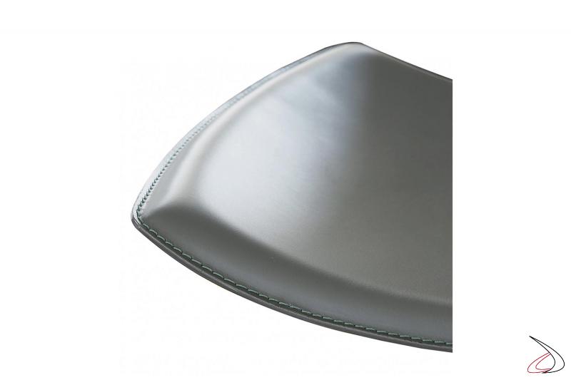 Sgabello in cuoio moderno da cucina regolabile in altezza e girevole