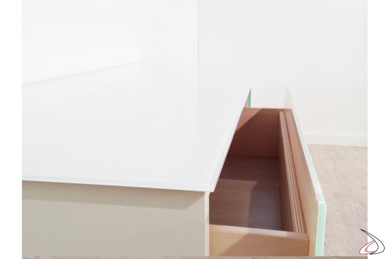 Cassetti interni in legno
