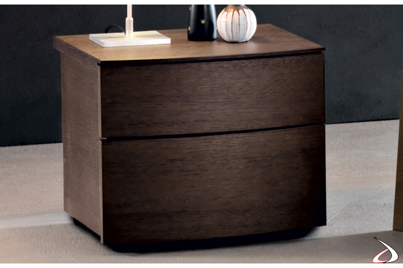 Design wooden bedside