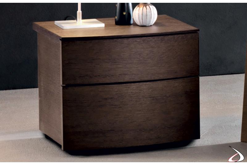 Comodino design in legno