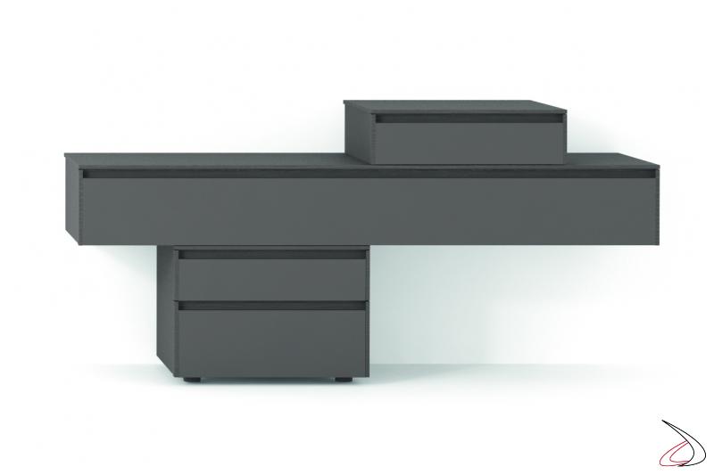 Comodino uso scrivania per camera da letto