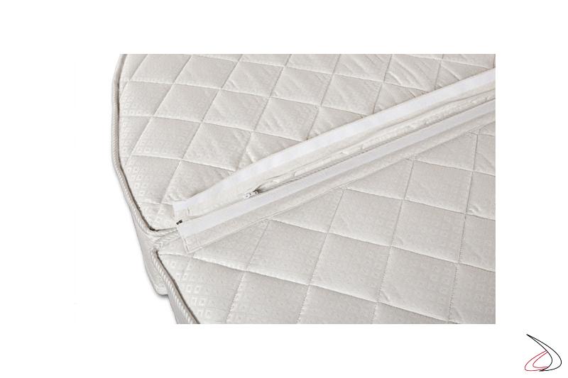 Dettaglio materasso rotondo