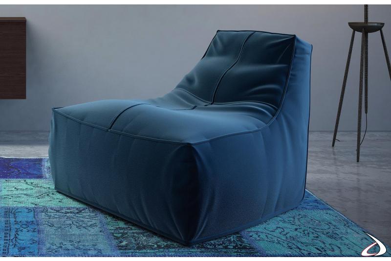 Pouf design poltrona da soggiorno