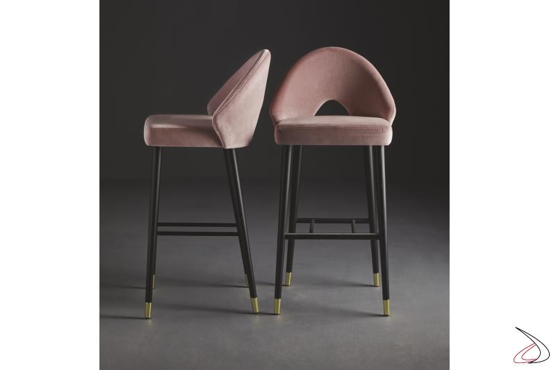Sgabelli Diana design raffinato by Colico.