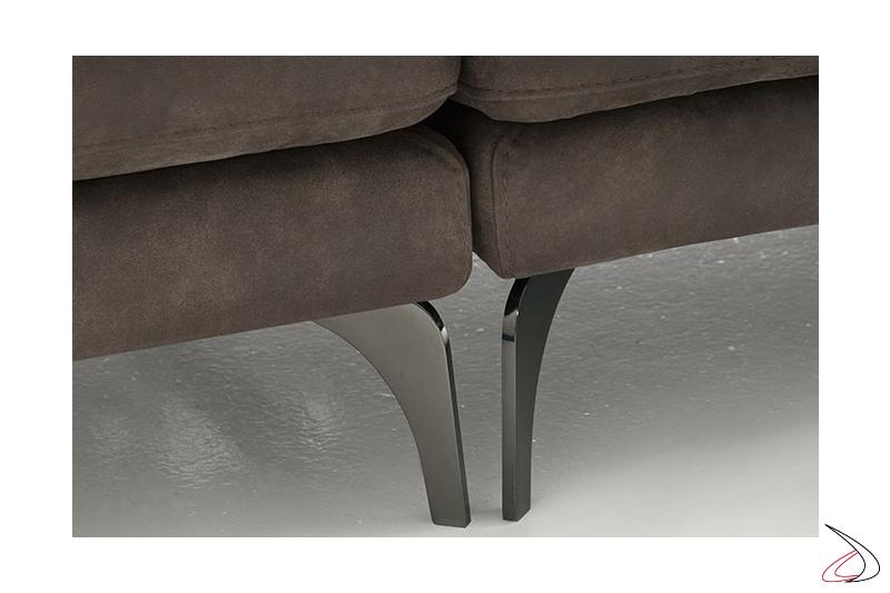 Piedini divano di design in metallo