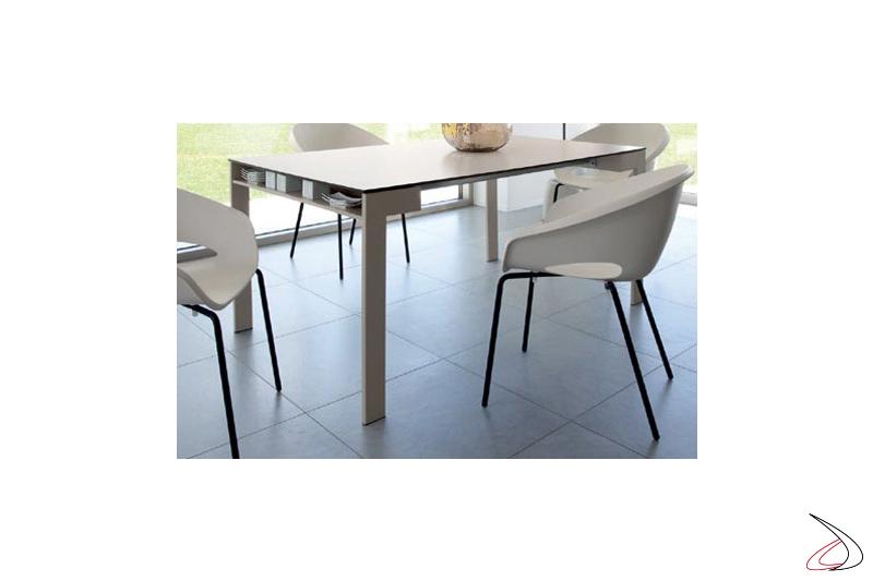 Poltroncina per tavolo da pranzo moderna