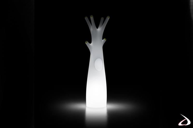Appendiabiti Godot in vesione luminosa