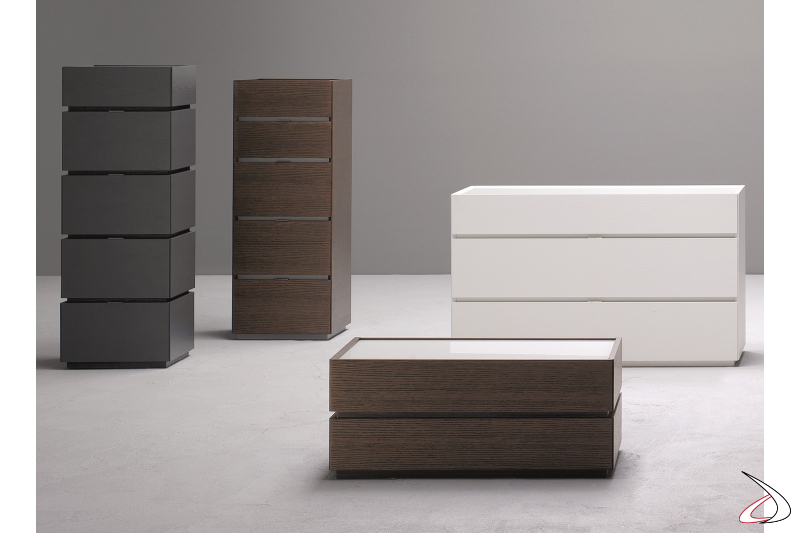Storage units for the bedroom