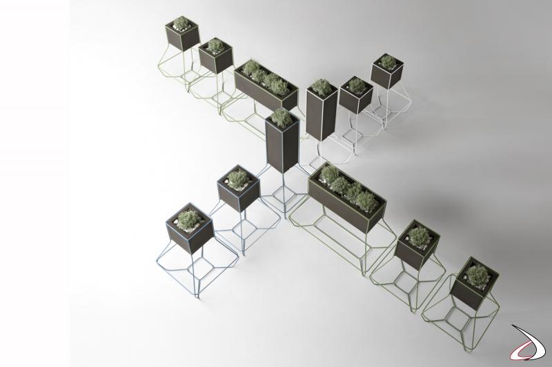 Soluzioni per ritagliare spazzi con un tocco di green.