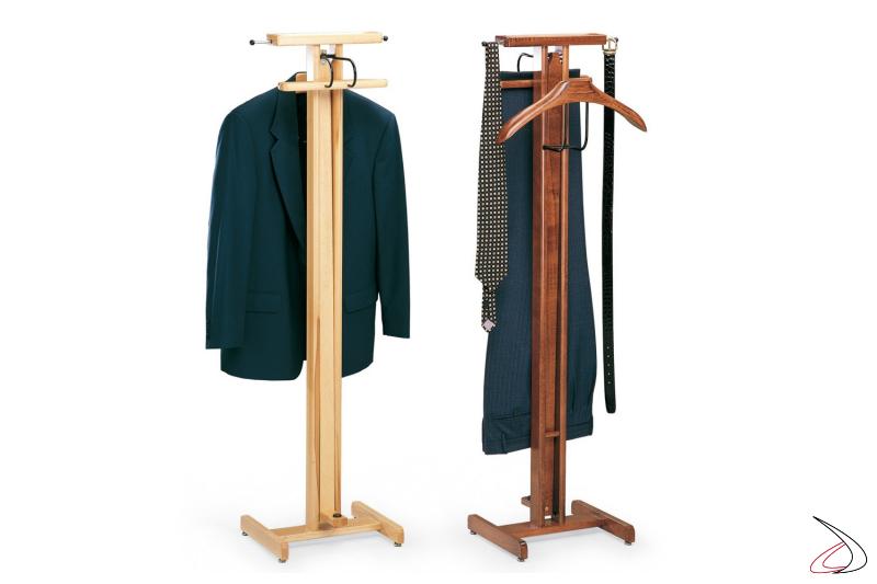 Indossatore da camera in legno