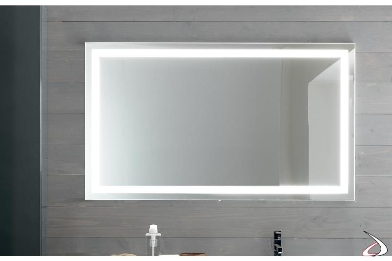 Specchiera design da bagno