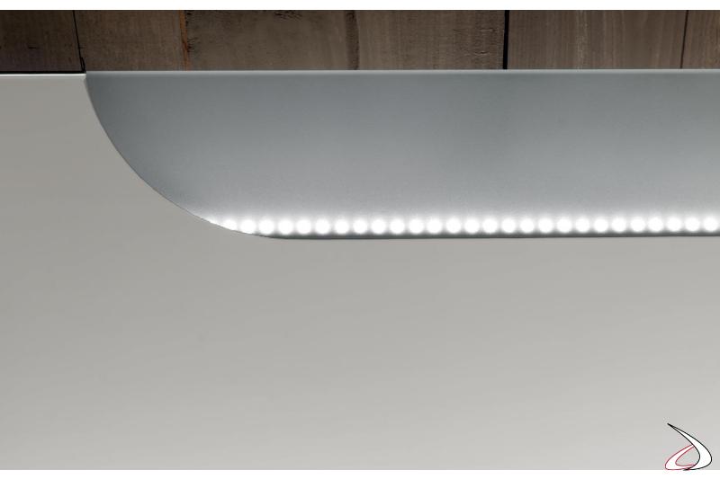 Luce led per specchio moderno da bagno