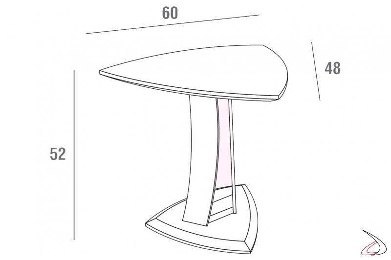 Misure tavolino design da salotto