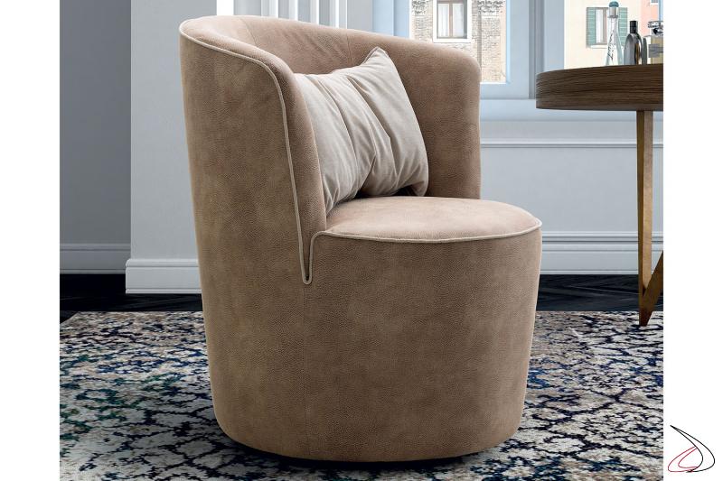 Poltroncina moderna comoda e confortevole modello Nefda