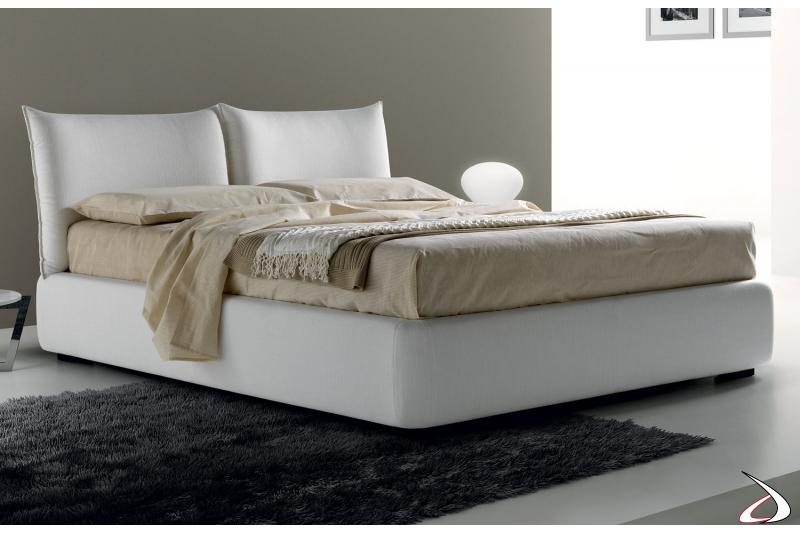 Modern stuffed bed. Full/queen size