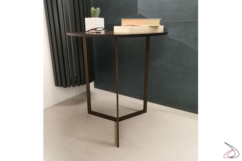 il tavolino Hélice un elemento di grande eleganza che saprà stare in armonia col ambiente che lo circonda senza passare inosservato.