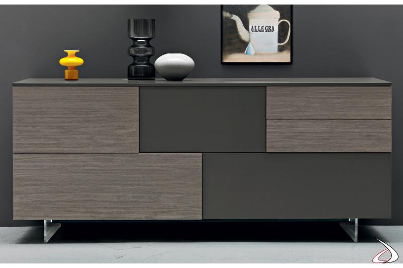 Madia moderna in legno di design