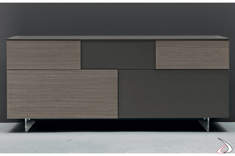 Modern Sideboard with doors and drawers for the living room