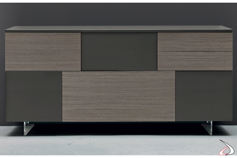 Sideboard with doors and drawers