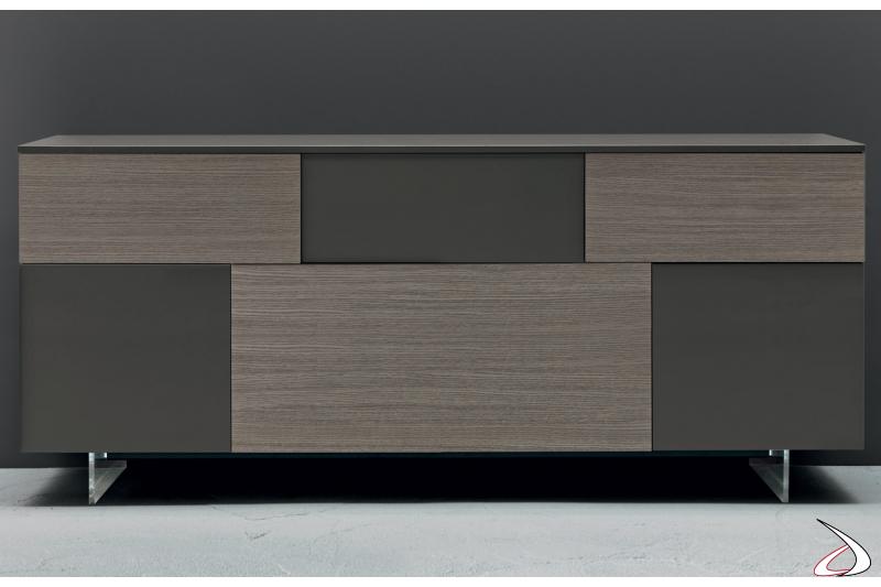 modern design wooden sideboard for the living room