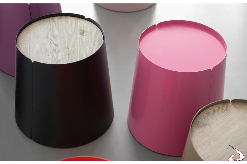 Tavolini moderni colorati da salotto