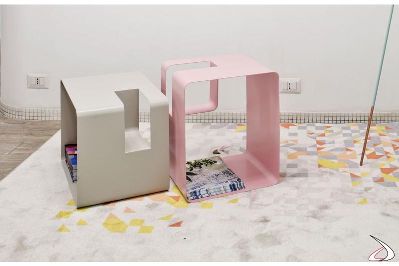 Portariviste moderno da soggiorno dal design originale